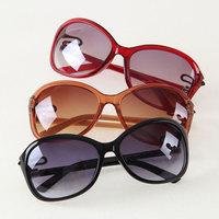 mix color can wholesale more preferential Women's sunglasses mirror decoration sunglasses 29331 6  5pcs/lot