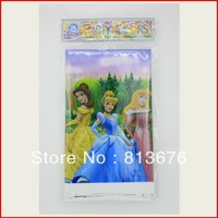 Free shipping Princesses themed birthday party supplies kids birthday party table cloth Princess table cloth