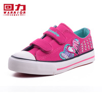 Free shipping Warrior children Shoes female child children fashion wear-resistant dance Shoes canvas Shoes velcro