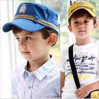 2014 new spring robot cadet cap cotton cap unisex child hat baseball cap