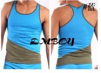 Free Shipping 1pcs/ tank tops / men shirts U381