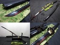 battle ready Clay tempered dragon tsuba sword adsorb tungsten blade katana sharpened