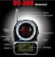 Mini Full Band Detector Detection Camera Wireless Signal Detector CC-309 free shipping
