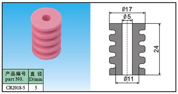 ceramic guide pullley CR2018-5(China (Mainland))