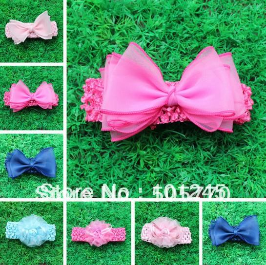 2designs hand-made flowers headband children hair accessory Sculpture Hair Clippie fashion free shipping(China (Mainland))