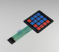 Freeshipping 16 Key Membrane Switch Keypad 4 x 4 Matrix Array Matrix keyboard 50pcs/lot