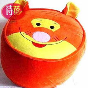 Tiger soft Plush Inflatable Chair inflation sofa inflation seat Toy stuffed animals full air PVC inside stool(China (Mainland))