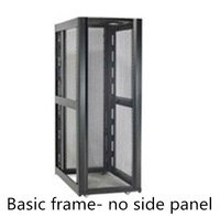 "19"" 600, 750 and 800mm Wide Server Rack with Basic Frame - NO Side Pane"