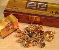 Ripe PuEr Tea,Yunnan Lao cang compressed mass of tea ,heart shape Pu'erh tea gift box package free shipping