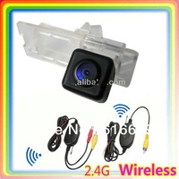 Free shipping 2.4G wireless car rear view camera for Renault duster special car camera HD waterproof