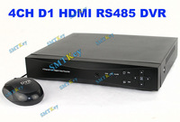 4CH 960H DVR D1 HDMI DVR 1080P DVR with RS485 Port Network DVR for home security