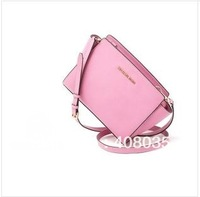 Free shipping 2014 new fashion Messenger Bag for women leather small women bag high quality brand M bag