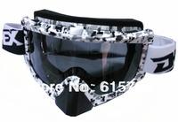 NEW STYLE GOOL GOOGLE !  Motorcycle Goggles Tinted UV fashion goggle Bike Cross Flexible goggle