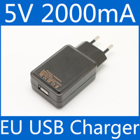 LA520A USB Power Adapter 5v 2a 2000mA EU Plug mobile phone charger travel wall charger Free shipping