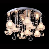 Factory wholesale Crystal lamp living room lights bedroom lamp aisle lights lamps lighting ceiling light circle x8052