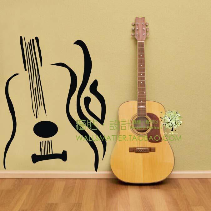 dibujo de guitarra para la pared ideas para cuarto de msica pinterest dibujo de guitarra guitarras y dibujos de