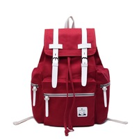 """""""Shisha Pangma"""" the trend of fashion  canvas outer backpackbag ,4colors for your choice , 30.0*43.0*16.0CM"""