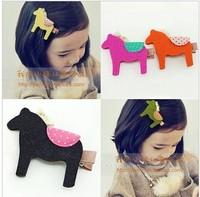 (5 pieces/lot)wholesale 2014 new Child cartoon clip bangs female child hair pin hair accessory hair accessory