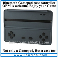 LSG101 DHL Free shipping For ipad mini 2 with Retina  Bluetooth wireless case smart icade gamepad for ipad mini
