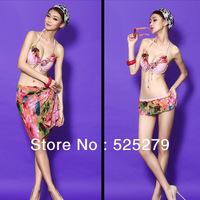 hot Women swimsuit Bikini set 2014 push up Swimwear VS Brand Free Shipping Sexy Swimsuit 2014 New Arrival gift