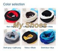 2014 Autumn And Winter Unisex Knitted Winter Scarf For Women And Men Lady Ring Scarves Cheap Price 19002