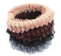 Our Min Order Amount is $15(can mix order) Free shipping Colorful goody hair ropes for women