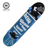 Crash skateboard professional skateboard double skateboard four wheel child skateboard adult board