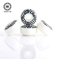 Daste professional skateboard wheel 54 32mm black-and-white chess wheel