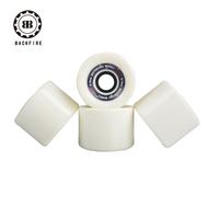 Daste skateboard professional long board wheel 70 50mm white round wheel