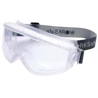 Scrub frame transparent lens antimist strike e301 blindages uvex9301 safety goggles