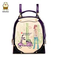Backpack backpack winter preppy style doodle bag travel bag x