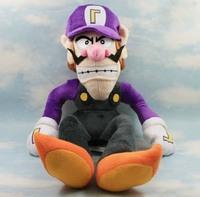Waluigi 1piece 14cm Hot Selling Super Mario Bros Brothers Waluigi Plush Doll Soft Toy Movie Figures