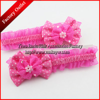 Free shipping 10pcs/lot WholesaleRetail Korean style kids headbands Lovely flower little girls hair bands High quality headband