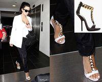 latest European American popular GZ sandals women's sandals slippers Genuine Leather