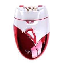 Free shipping KD-189 Hair Epilator Hair Remover Woman Lady shaver Rechargeable Shaver
