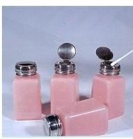 Multipurpose push alcohol bottles / / self-priming plastic bottles / stainless steel cover anti-volatile BOP plastic pump bottle