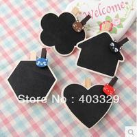 Free shipping hot sale mini chalkboard 1 set a chalkboard plus 3 pcs chalk