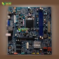 free shipping 95% new for LENOVO CIH61MI V1.1 H61 desktop motherboard LGA1155 M-ATX(for Core i3 i5 i7 CPU)