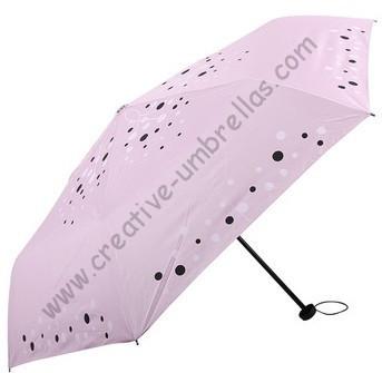 Free shipping,6k fiberglass bag umbrellas,three fold umbrellas,hand open,windproof,UV protecting,supermini,pocket umbrellas(China (Mainland))