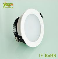 Aluminum 2pcs/lot SMD2835 3W/5W/7W/9W/12W/15W/18W led downlight lamp AC90-260V  wholesale free shipping by China Post