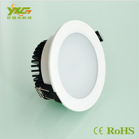 Aluminum 2pcs/lot SMD2835 3W/5W/7W/9W/12W/15W/18W led downlight lamp AC90-260V  wholesale free shipping by China Post