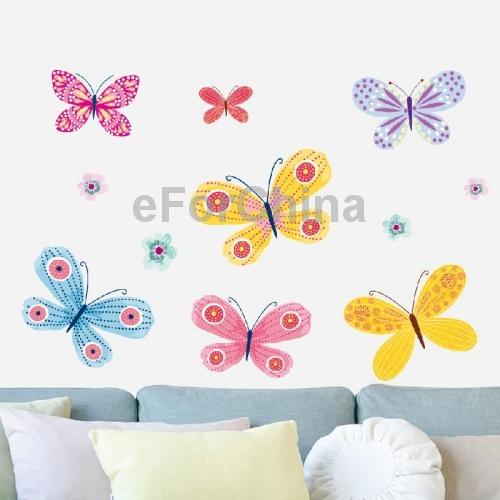 Online kopen wholesale zelfklevende vlinders uit china for Interieur decoratie groothandel