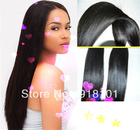 free shipping new arrival #1b striaght human hair weft 100% indian remy human hair 100g/pc 3pcs/lot 8-32inches in stock