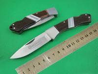 NEW BOKER PLUS BK826 OEM Steel + ROSEwood Handle 5Cr13 58HRC Coating Titanium Blade Folding Knives POCKET CAMPING Tactical Knife