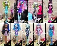 Original Monster High clothing doll's dress 9pcs/lot free shipping