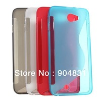 Free shipping  Newest High Quality silicon case for THL w200  W200S phone case white red blue gray four color in stock