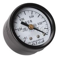 Vacuum Manometer Gauge Axial Air Pressure Meter 40mm Dial Diameter