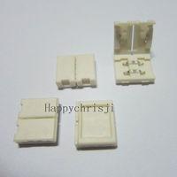50 pcs Lot Mini 2-PIN Led Connector For 10mm 3528 5050 Single Color LED Strip free shipping