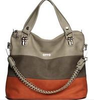 2014 Hot  Product OPPO Women Fashion Shoulder Bag Fresh Design Elegant Soft PU Leather Bag