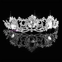 Free shipping Star crystal bridal crown wedding tiara Bridal Wedding Party Prom JEWELRY 0120